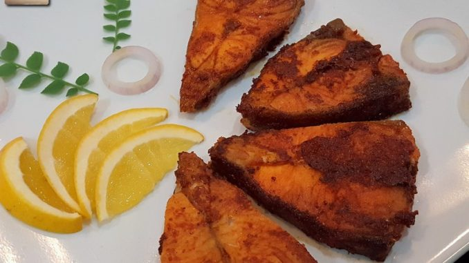 Black Pomfret Masala Fried