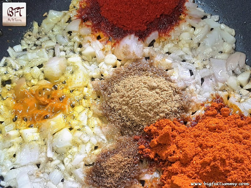 Preparation of East Indian Bombay Duck Curry