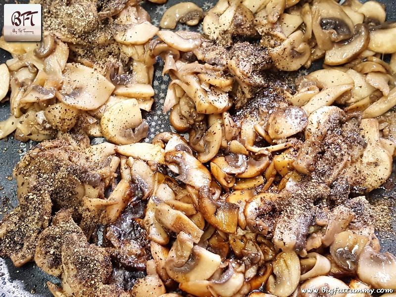 Preparation of Mushroom Fried Rice