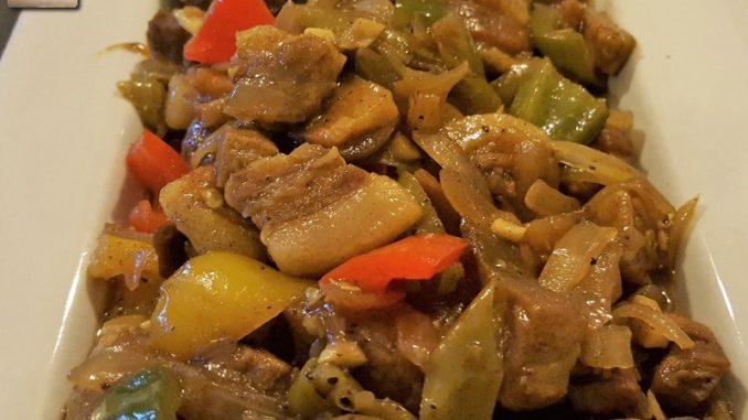 Pork Chilly Fry