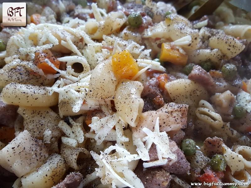 Preparation of Goan Pork Stew