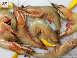 Preparation of Butterflied Prawns