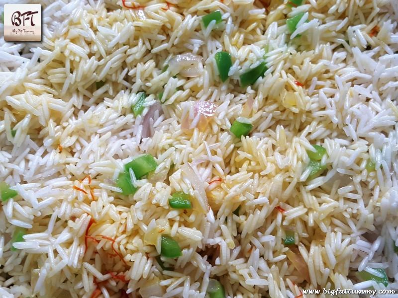 Preparation of Saffron Infused Rice