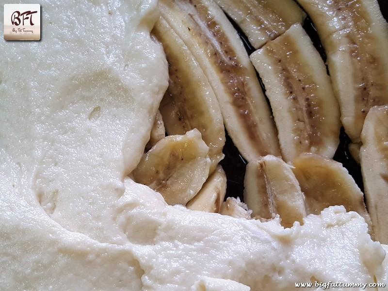 Preparation of Warm Banana Pudding