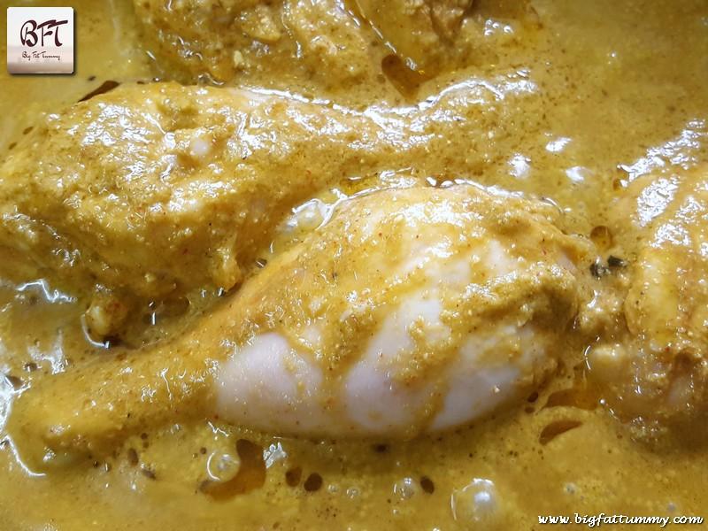 Preparation of Chicken Masala