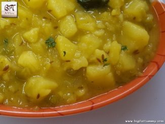 Goan Potato Patol Bhaji