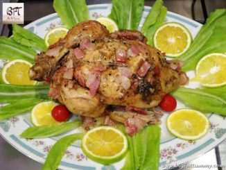 Cold Meat Stuffed Chicken