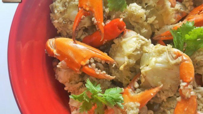 Goan Crab Sukkem