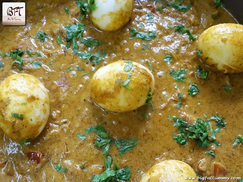 Preparation of Egg Biryani