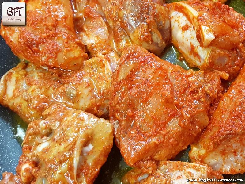 Preparation of Express Chicken Fry