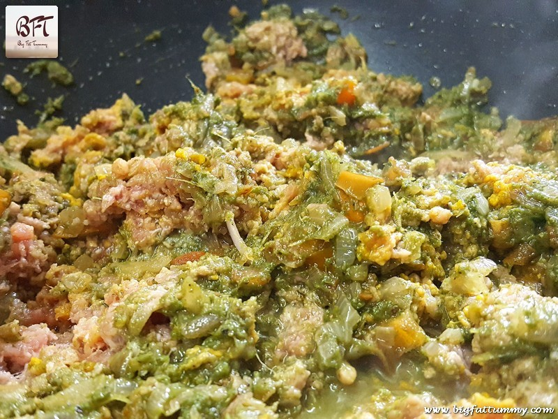 Making of Goan Green Beef Mince