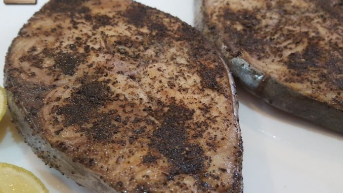 Kingfish Lemon Pepper Fried