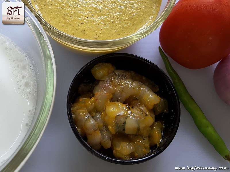 Preparation of Goan Prawn Breadfruit Verdur