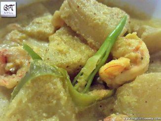 Goan Prawn Breadfruit Verdur