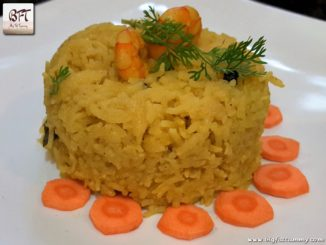 Prawn Pulao with Coconut Milk