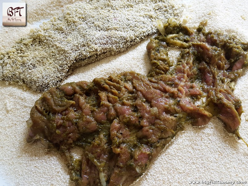 Preparation of Goan Beef Cutlet