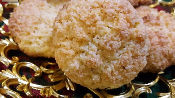 Bolinhas - Goan Coconut Cookie