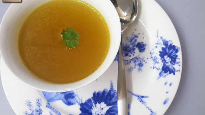Caldo De Galinha - Goan Chicken Broth