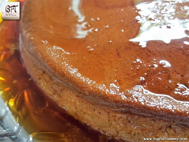 Making of Custard Caramel