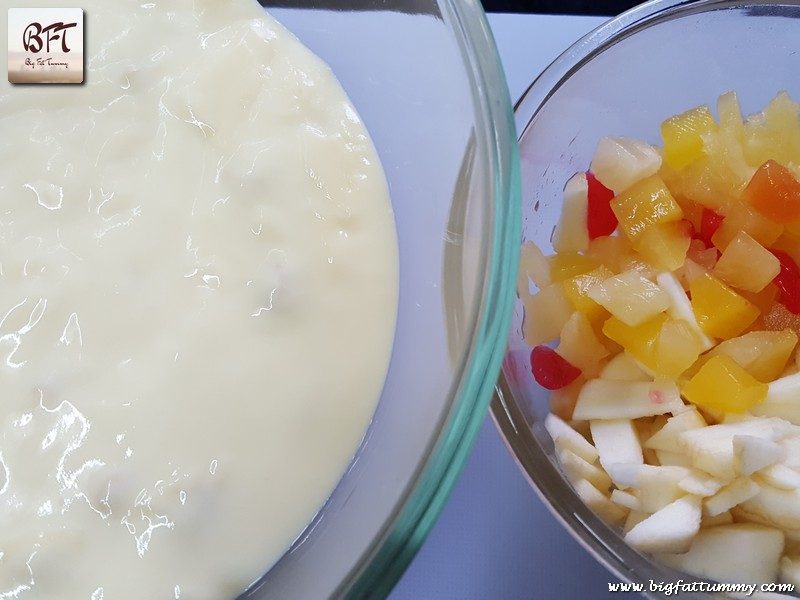 Preparation of Fruit Custard