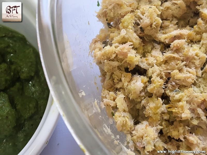 Preparation of Goan Mackerel Cutlets