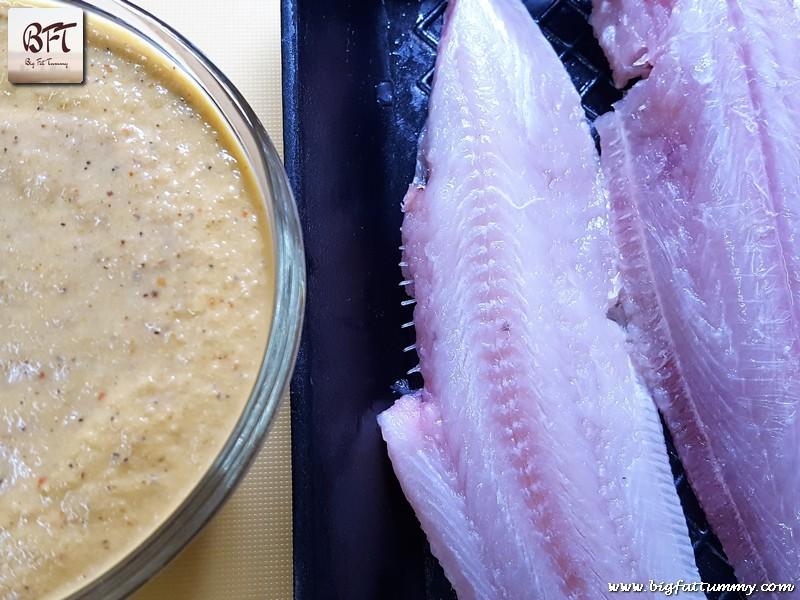Preparation of Goan Sole Fish Curry