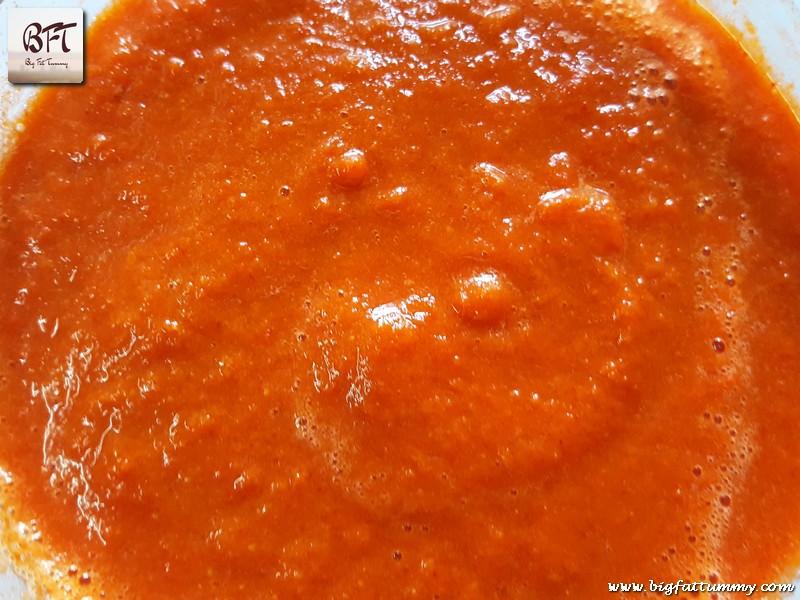 Making of Mutton Koftas in a Tomato Gravy