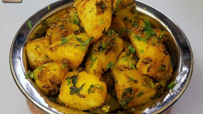Aloo jeera recipe north indian bft for the love of food perhaps the simplest of indian vegetable dishes and also the easiest to cook the aloo jeera is economic nutrition packed and easy to digest forumfinder Images