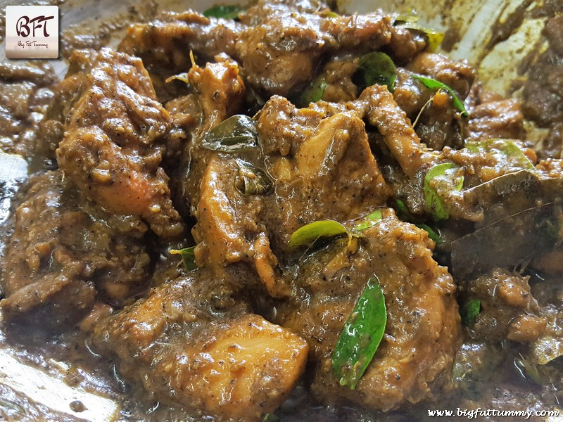 Making of Chettinad Pepper Chicken Fry