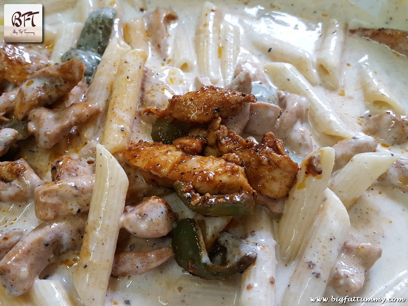 Preparation of Chicken Penne Pasta