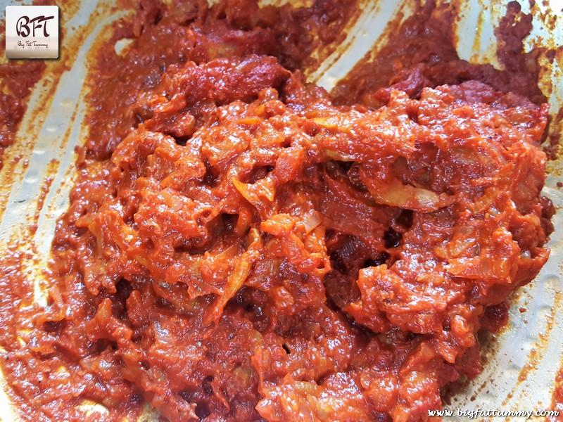 Making of Goan Dry Shrimp Brinjal Curry
