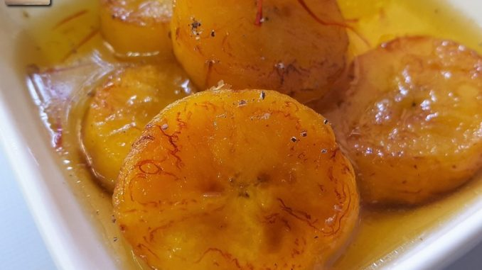 Goan Keleacho Halwo .. a banana sweet dish