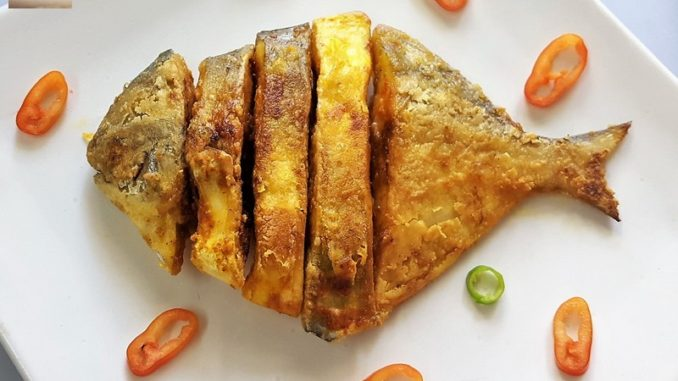 Crisp Fried Pomfret