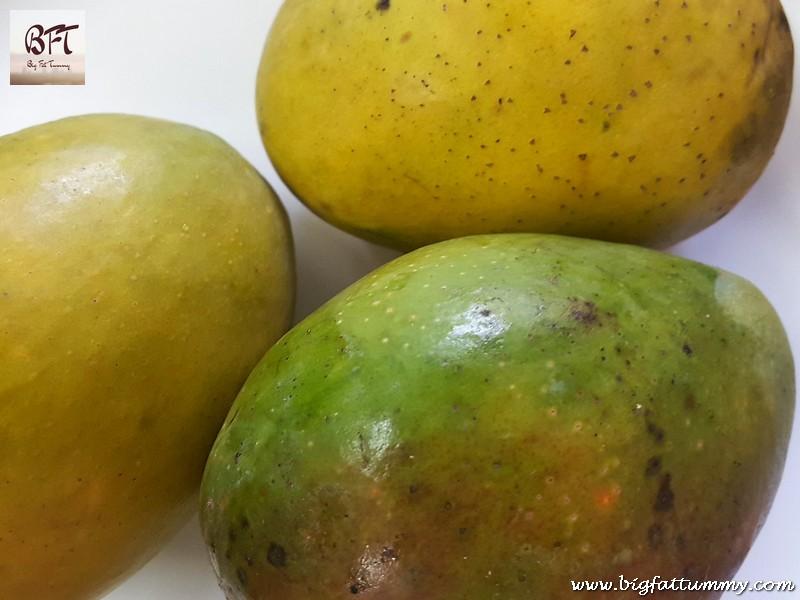 Making of Mangada / Goan Mango Jam