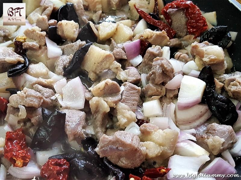 Making of Pork Solantulem