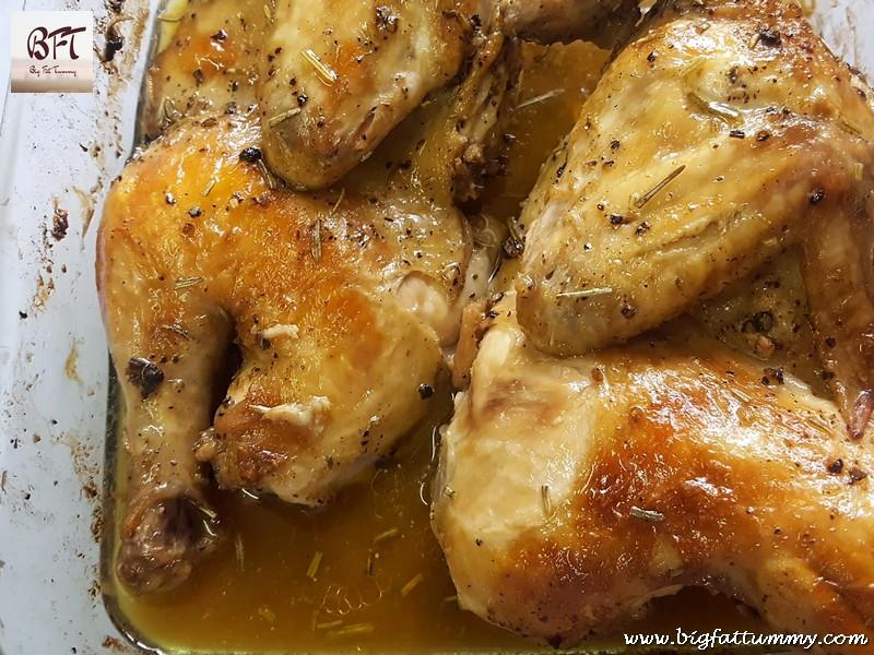 Preparation of Rosemary Chicken Roast