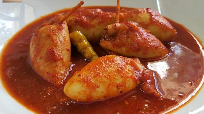 Recheado Squid Curry