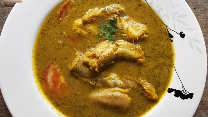 Bombay Duck Green Curry