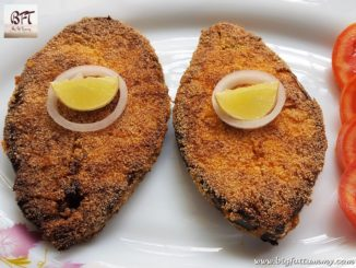 Kingfish Tamarind Masala Rawa Fried