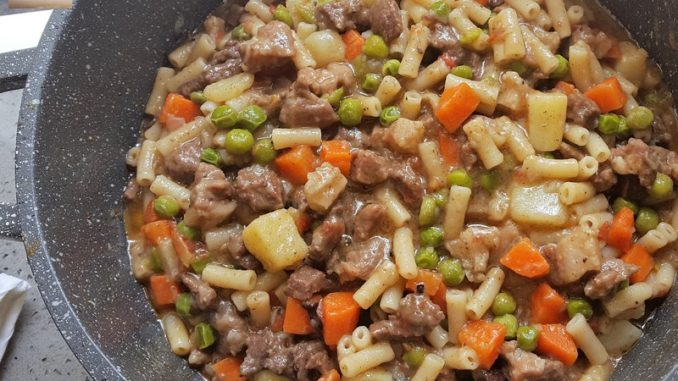 Pork and Beef Stew