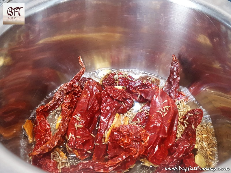 Preparation of Rajasthani Laal Maas