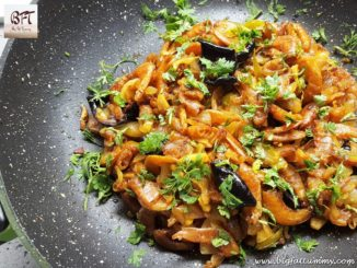 Dry Prawn Chilly Fry