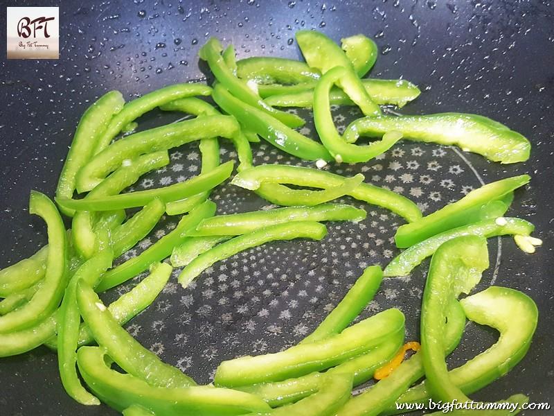 Preparation of Goan Prawn Chow Chow