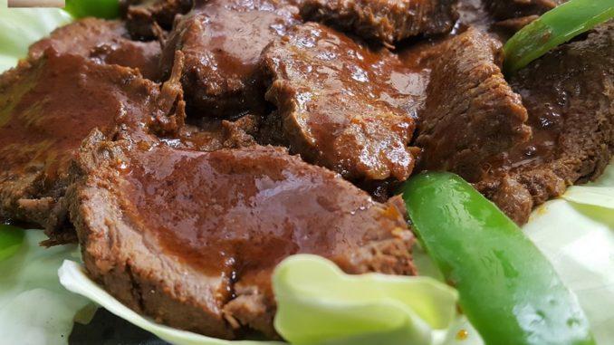 Goan Red Beef Roast