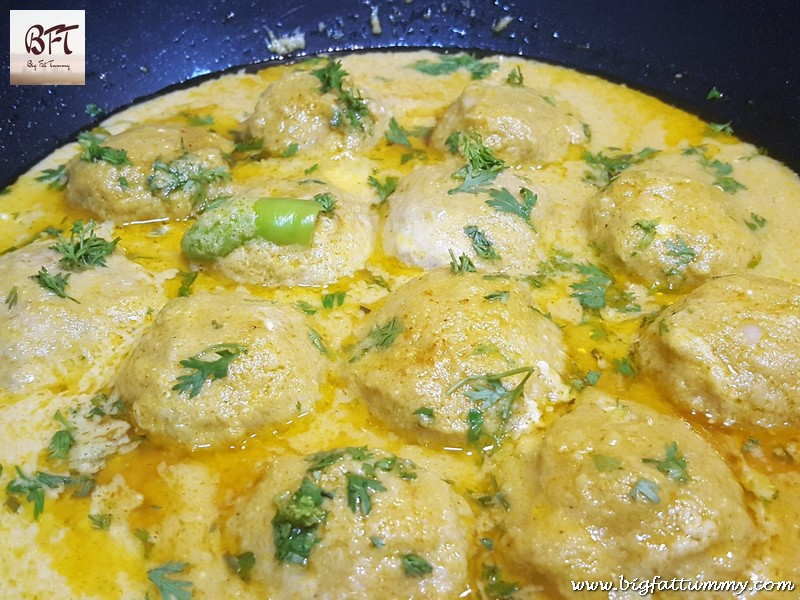 Preparation of Mughlai Chicken Meatballs