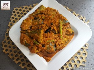 Bangde Sukhem (Dry preparation of mackerel with coconut)