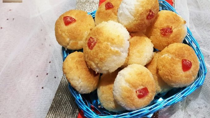 Desiccated Coconut Cookies 10