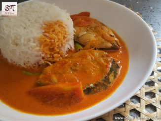 Goan Coconut Milk Kingfish Curry