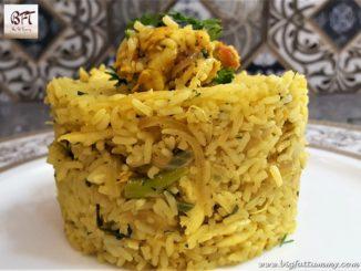 Goan Prawn Chilly Fry Rice