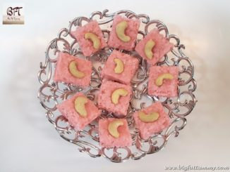 Rose Coconut Toffee